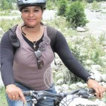 Arpita Mohapatra in National Mountain Biking Competetion