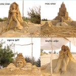 Sand Art Park by Sand Artist Manas Kumar Sahoo