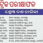 Orissa Matric Toppers 2012