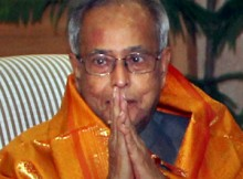 Pranab Mukherjee President of India