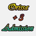 Orissa Plus 3 admission