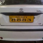 New number plates in Orissa