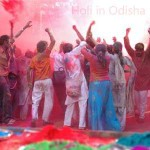 holi in odisha