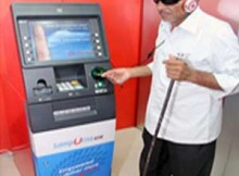 Talking ATM in Bhubaneswar