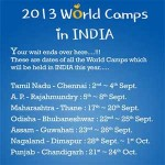 IYF world camp 2013 Bhubaneswar