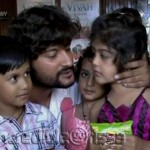 Anubhav Oriya Actor with Children