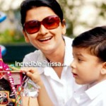 Rachana Banerjee with son Praneel