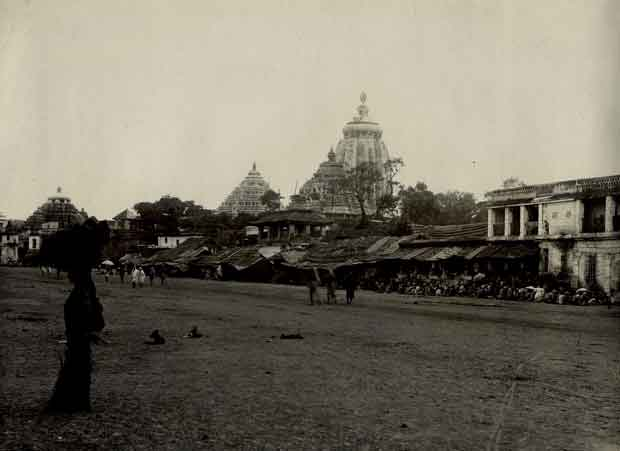 1890 jagannath temple puri photo