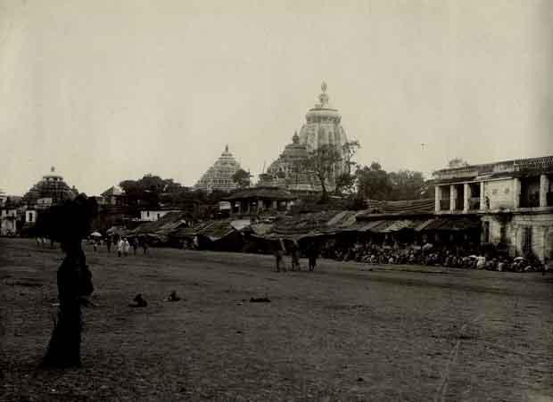 1890 jagannath temple puri photo