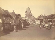 1892 Puri Jagannath temple
