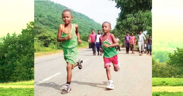 4-year-old Odisha boy runs