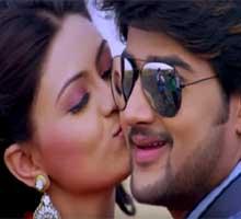 Sambit and Koyel in Aashiq odia movie