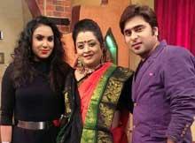 Abhijeet Mishra and Navya Jaiti