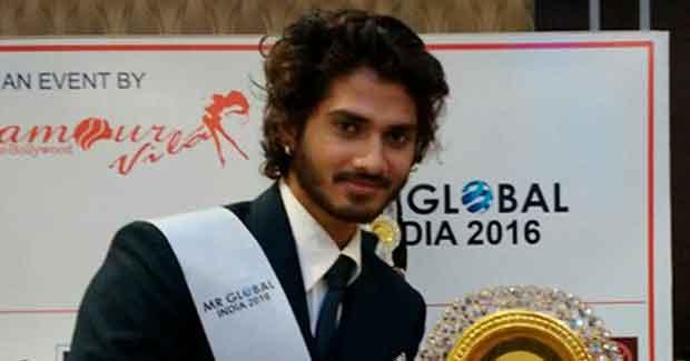 Abhishek Giri Mr Global India 2016