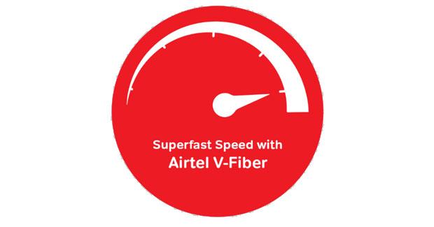 Airtel V-Fiber Broadband