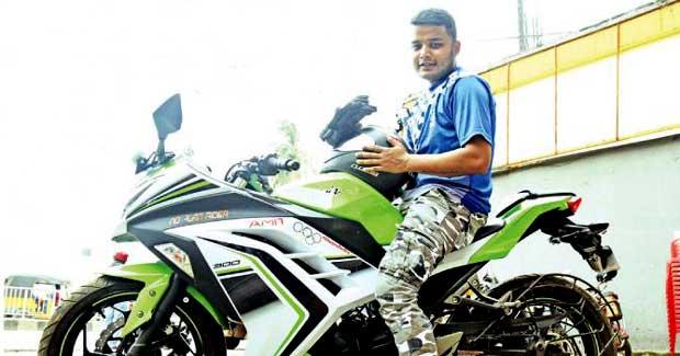 Amit Mallick bike trip