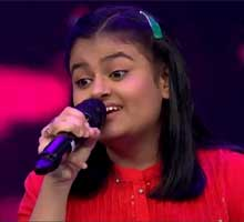 Ananya Nanda in Indian Idol Junior 2