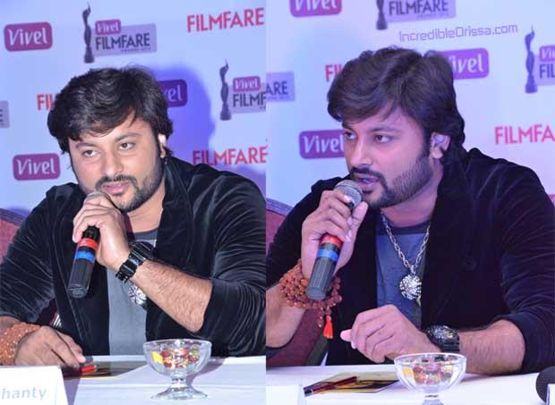 Anubhav at Filmfare Awards launch