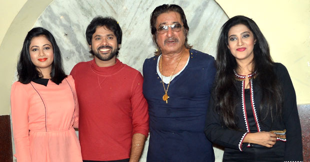 Archita, Varsha, Sabyasachi and Shakti Kapoor in Odia film
