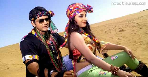 Arindam and Riya in Banjara song video from Kalki film