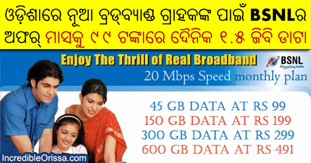 Latest BSNL broadband plans in Odisha: Rs 99, Rs 199, Rs 299