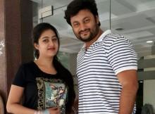 Barsha and Anubhav in real life photo