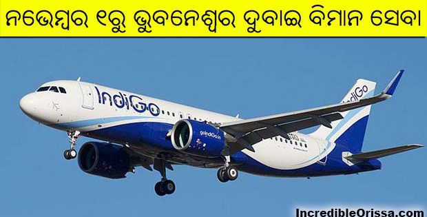 Bhubaneswar to Dubai direct flight