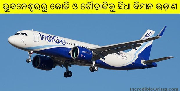 Bhubaneswar to Kochi and Guwahati flight