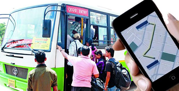 Bhubaneswar city bus GPS