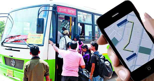 Bhubaneswar city bus GPS