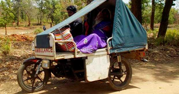 Bike Ambulance in Odisha