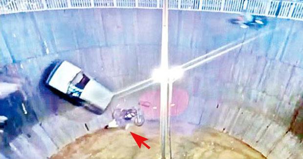 Stunt biker death in Maut Ka Kuan Odisha
