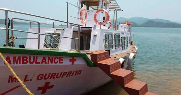 Boat Clinic Odisha Malkangiri