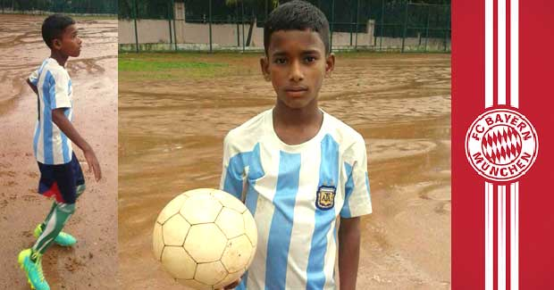 Chandan Nayak football
