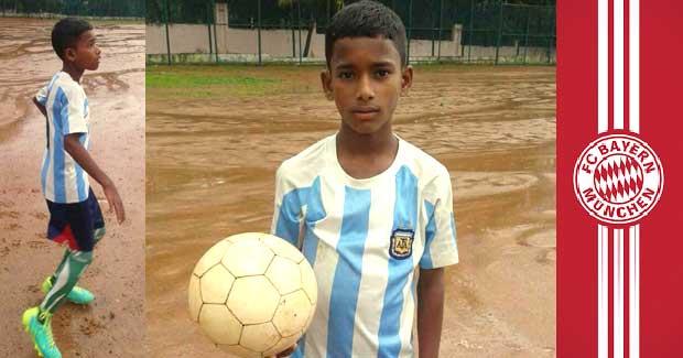 Chandan Nayak football