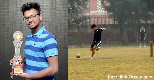 Chandan Ray Leg Cricket player of Odisha