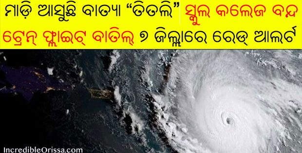 Cyclone Titli in Odisha