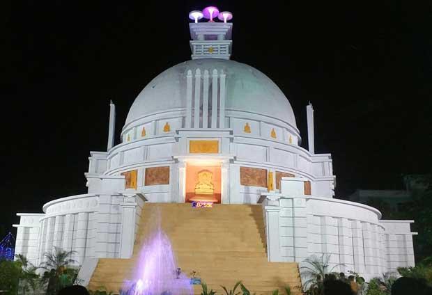 Dhauli Durga Puja pandal