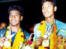 Dipsan Tirkey and Anand Lakra