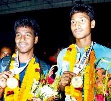 Dipsan Tirkey and Anand Lakra