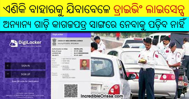 Driving Licence Odisha rule