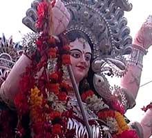 Durga Puja bhasani