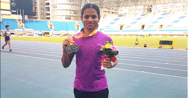 Dutee Chand Asian Grand Prix