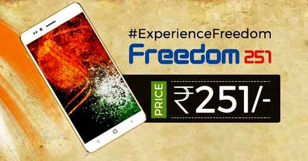 Freedom Rs 251 Smartphone