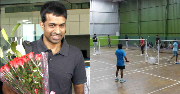 National Badminton coach Gopichand in Bhubaneswar