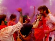 Holi song from Odia film