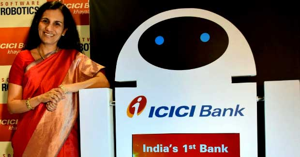 ICICI Bank Robots for Banking