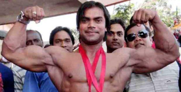 Janmejaya Mohanty bodybuilder