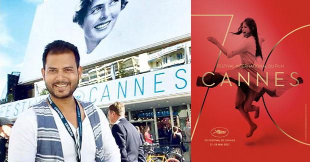 Jitendra Mishra at Cannes Film Festival