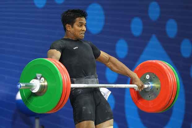 K Ravi Kumar Weightlifter